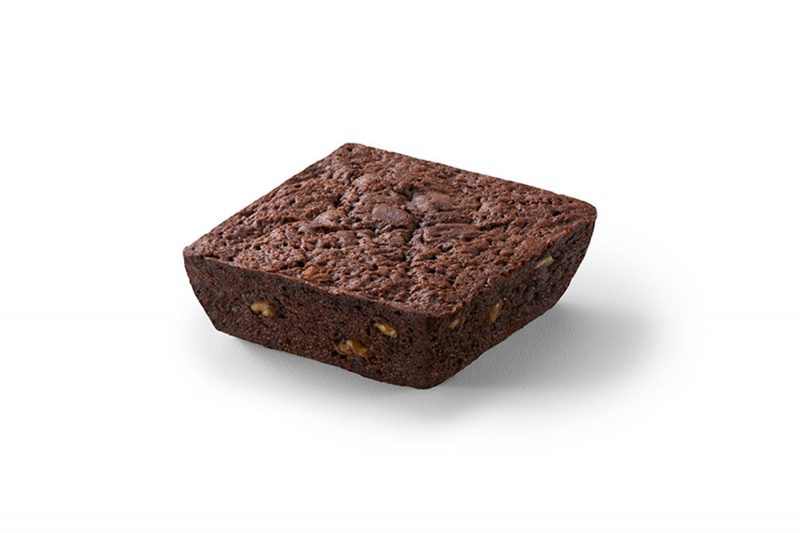 Brownie fudge com nozes